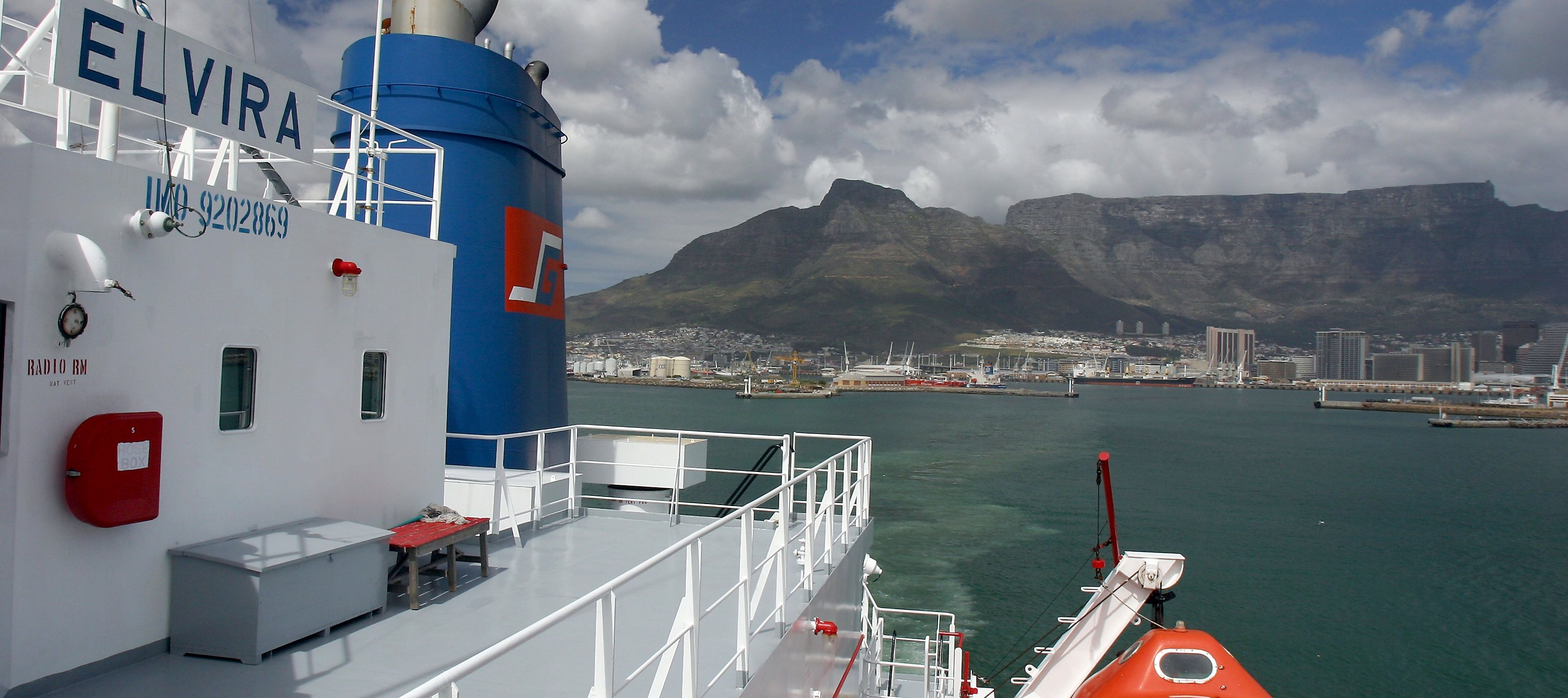 Elvira-sailing-Cape-Town